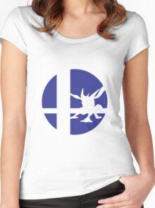 Greninja - Super Smash Bros. Women's Fitted Scoop T-Shirt
