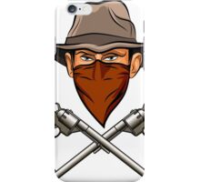 Bandit wit a Guns iPhone Case/Skin