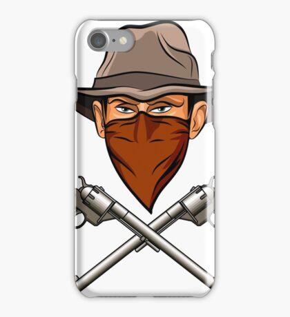 Bandit wit a Guns iPhone Case/Skin