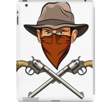 Bandit wit a Guns iPad Case/Skin