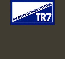 "Triumph TR7 - ""The Shape of Things to Come"" - Blue Unisex T-Shirt"
