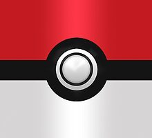Awesome PokeBall [iPhone, Pad, Pillows & Bags] by V-Art