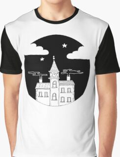 City Night Graphic T-Shirt
