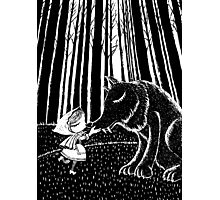 Little Riding Hood Photographic Print