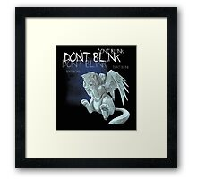 Weeping kitten Framed Print