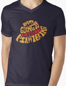 Straw Hat Mens V-Neck T-Shirt
