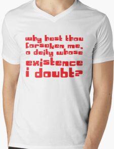 O Diety Mens V-Neck T-Shirt