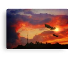 Eve of War Canvas Print