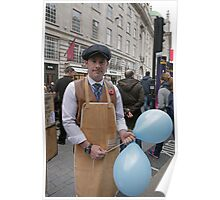 An Able removal man at the Regent Street Motor Show 2013, Poster