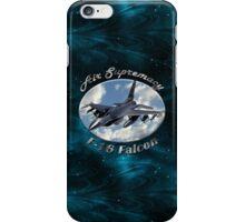F-16 Falcon Air Supremacy iPhone Case/Skin