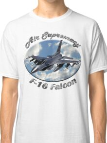 F-16 Falcon Air Supremacy Classic T-Shirt