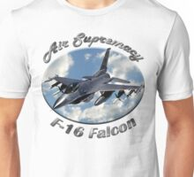F-16 Falcon Air Supremacy Unisex T-Shirt
