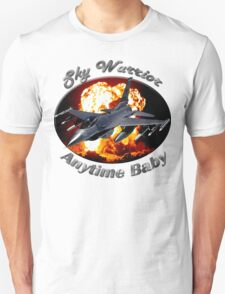 F-16 Falcon Sky Warrior T-Shirt