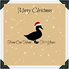 Merry Christmas Duck by Tracy Jones