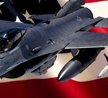 F-16 Falcon Give Me Liberty Sticker