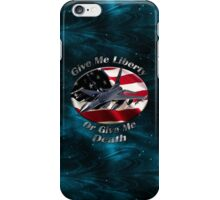 F-16 Falcon Give Me Liberty iPhone Case/Skin