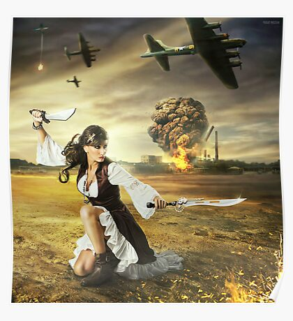 The Steampunk Warrior  Poster