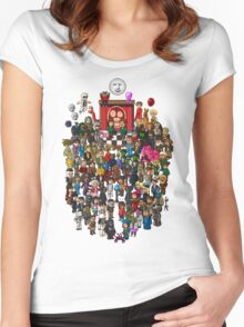 Super Mighty Boosh Women's Fitted Scoop T-Shirt