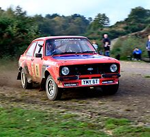 Ford Escort No 8 by Willie Jackson