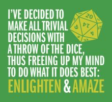 Enlighten & Amaze T-Shirt