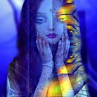 Godess in blue  by Annabellerockz