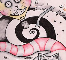 when cats and snakes colide by Meg Forrest