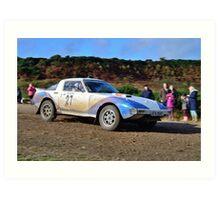Mazda RX7 No 27 Art Print