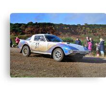 Mazda RX7 No 27 Metal Print