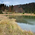 Autumn around lake Genin by Patrick Morand