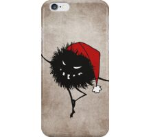 Dark Evil Christmas Bug iPhone Case/Skin