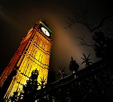 Big Ben an artistic perspective by Darren Bailey LRPS