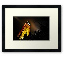 Big Ben an artistic perspective Framed Print