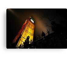 Big Ben an artistic perspective Canvas Print