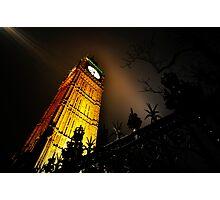 Big Ben an artistic perspective Photographic Print