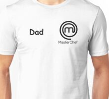 master chef logo dad Unisex T-Shirt