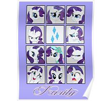 Faces of Rarity Poster