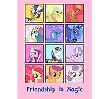 Friendship is Magic Photographic Print