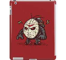 Hockey Mask Bot iPad Case/Skin