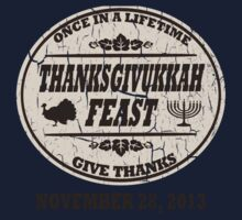 Vintage Once in a Lifetime Thanksgivukkah Kids Clothes