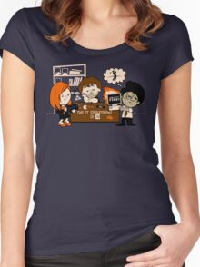 The IT Peanuts  Women's Fitted Scoop T-Shirt