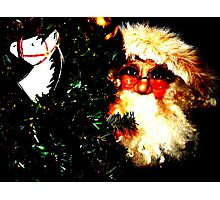 Zat You, Santa Claus? Photographic Print