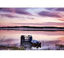 Lilac dawn Photographic Print