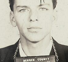 Frank Sinatra Mugshot by Bridgeman Art Library