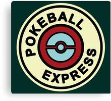Ball Express Canvas Print