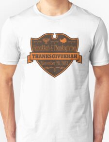 Thanksgiving meets Hanukkah Thanksgivukkah Unisex T-Shirt