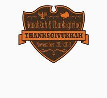 Thanksgiving meets Hanukkah Thanksgivukkah Unisex T-Shirt
