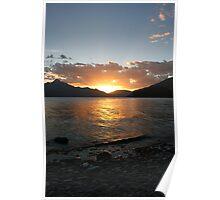 Queenstown Sunset - New Zealand Poster