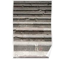Cement Stairs Poster