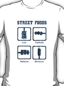 Pinoy Street Food Icons T-Shirt