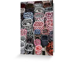 Knit Bags Greeting Card